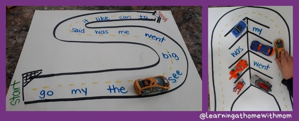 games to practice sight words